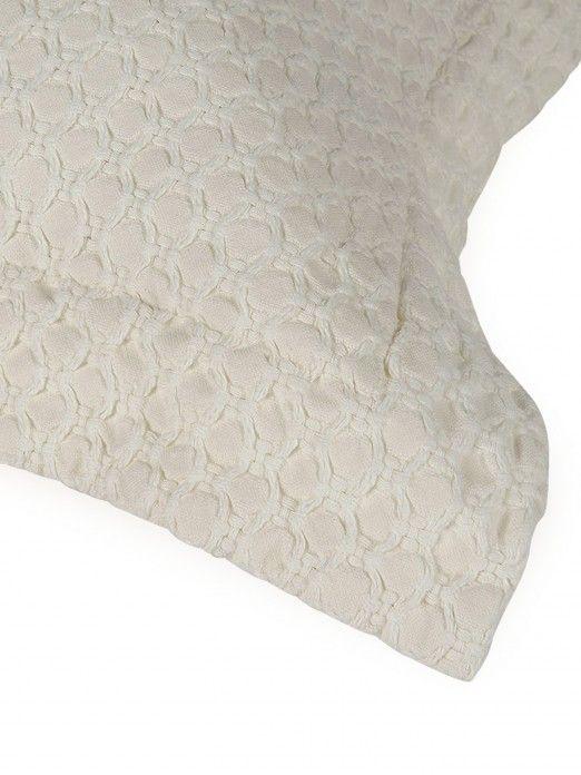 Honeycomb Washed Sham Set